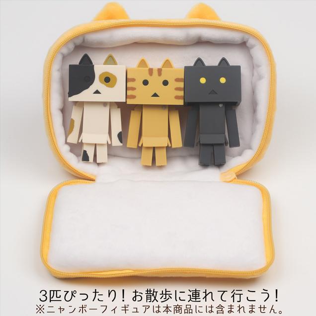 貓咪阿愣 小物袋 calico