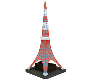 "SOFUBI TOY BOX Hi-LINE 003 ""東京鐵塔"" 日本電波塔"